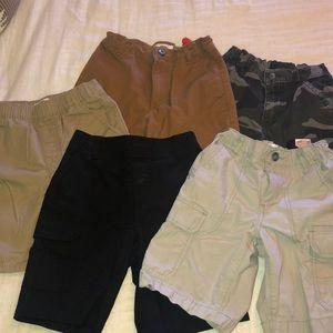 Lot of 6 pairs of boys shorts